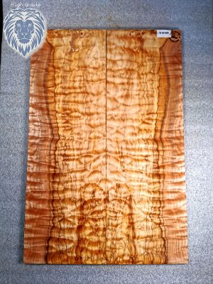 Prem. spalted quilt. Maple Guitar Top, 8mm  (V-8169)