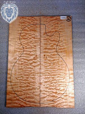 Prem. quilted Maple Guitar Top, 6,5mm  (V-8192)