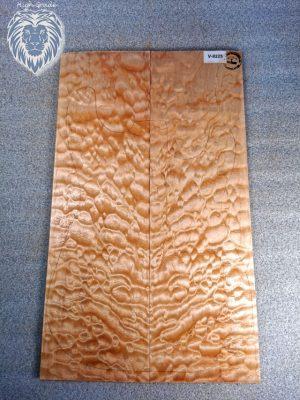 Prem. quilted Maple Guitar Top, 5,5mm  (V-8225)