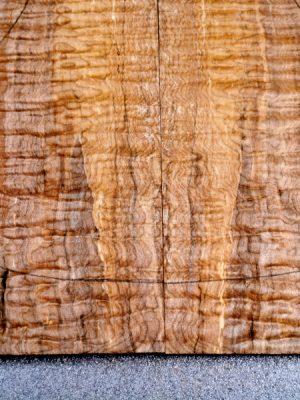 Prem. spalted quilt. Maple Guitar Top, 6,5mm  (V-8229)
